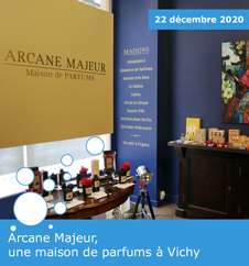 Arcane Majeur, une maison de parfums à Vichy